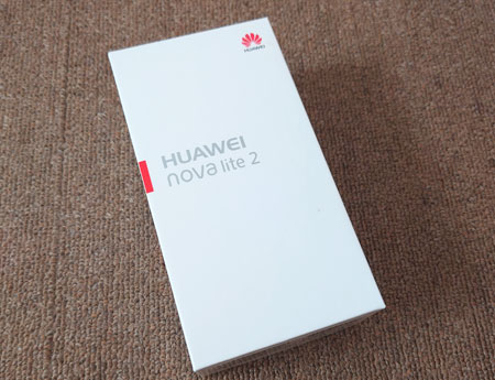 ゲオで買い取ってもらった HUAWEI nova lite 2 の外観