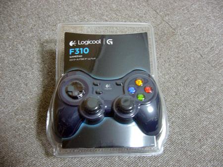 ゲームパッド F310r