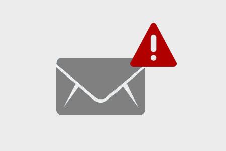 メール送信トラブル