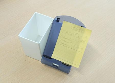 スマホペンスタンドで付箋紙やメモも管理する
