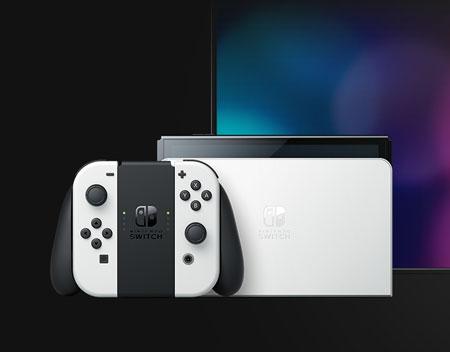 新型 Nintendo Switch の外観